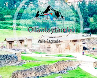 The Archaeological Park of Ollantaytambo